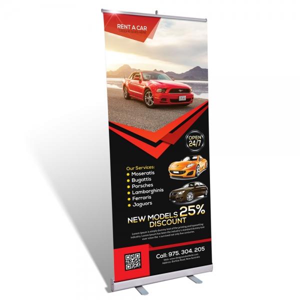 Rollup Display Premium