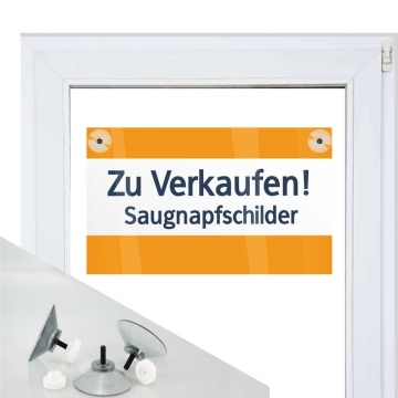Saugnapfschild 3mm Hohlkammer