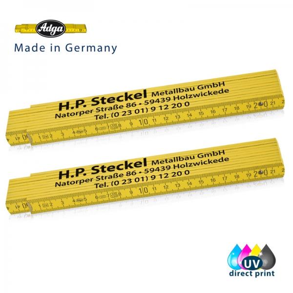 Beispiel  von Zollstock 2m - ADGA 250 - gelb