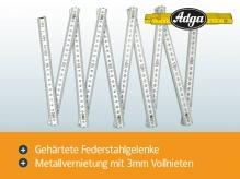Beispiel 4 von Zollstock 2m - ADGA 250 - weiß