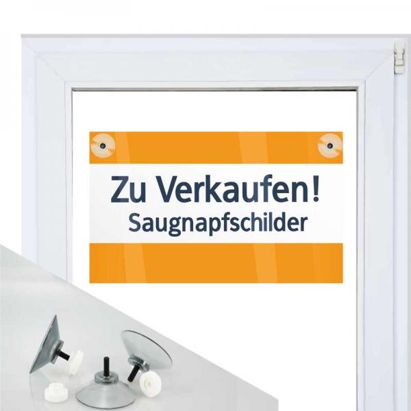 Beispiel  von Saugnapfschild 3mm Hohlkammer