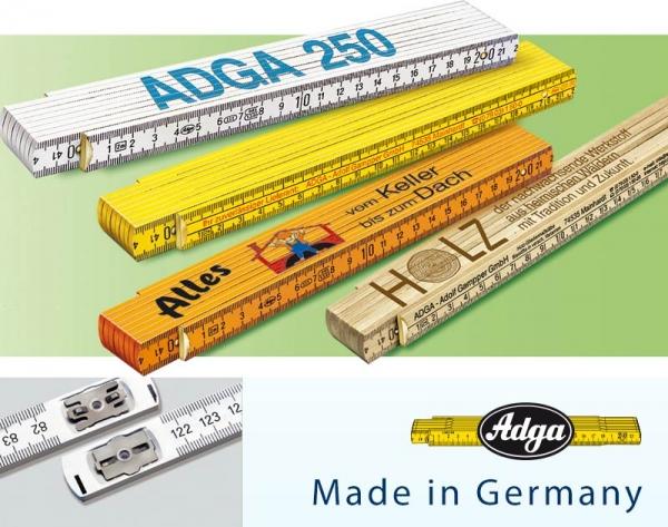 Beispiel 2 von Zollstock 2 m - ADGA 250+ - weiß