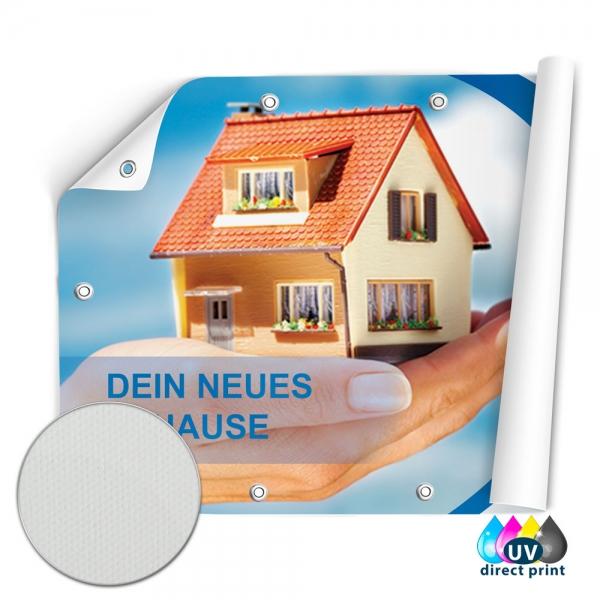 Werbebanner Frontlit Premium 4/0